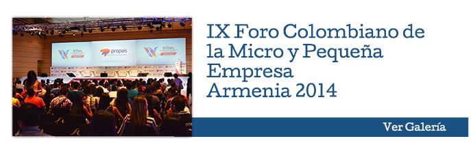 IX Foro Colombiano de la Micro y Pequeña Empresa