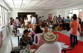 """Misión """"Compre Colombiano"""" en Sampués, sucre reportó expectativas comerciales por más de $ 83 millones"""