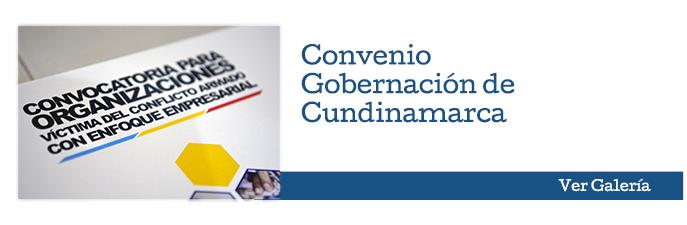 Galería de fotos Convenio - Gobernación de Cundinamarca