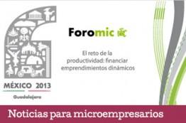 Inicia Foro Interamericano de la Microempresa Foromic 2013