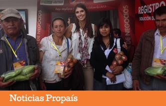 Campesinos y empresarios del agro en Boyacá reportaron negocios cercanos a $5.600 millones