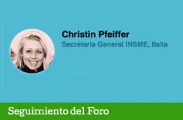 Christin Pfeiffer Una mujer experta en innovación para Pymes