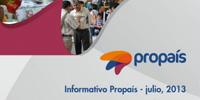 Informativo Propaís - Julio 2013