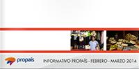 Informativo Propaís | Febrero - Marzo 2014