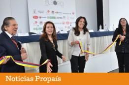 Viceministra de Comercio Exterior instala Feria del Cuero en Bogotá