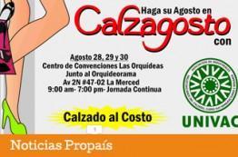 Compre Colombiano hace su agosto en Calzagosto