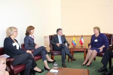 Presidente Santos y Ministra de Comercio invitan a líderes de empresas a invertir en Colombia