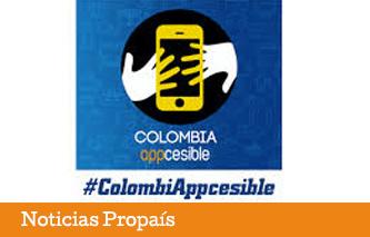 """Propaís presente en """"Colombia APPcesible"""""""