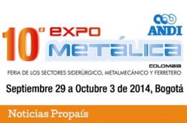 Expometálica 2014 contará con Compre Colombiano
