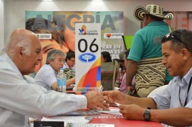 08 compañías negociaron hoy en Barranquilla con emprendedores de la población víctima del conflicto armado
