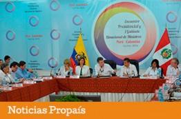 Colombia Y Perú acuerdan promover emprendimiento, comercio y turismo