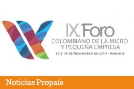 Armenia, sede del IX Foro Colombiano de la Micro y Pequeña Empresa