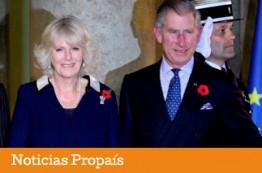 Feria orgánica en Bogotá con la presencia del Príncipe de Gales y la Duquesa de Cornualles