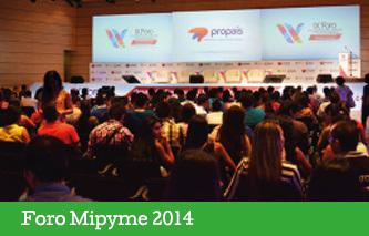 Balance positivo en el Foro Mipyme 2014 en Armenia