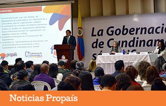 Propaís presentó ante Alcaldes de Cundinamarca convocatoria para población víctima