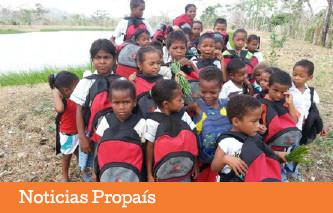 Microempresas de Colombia le apuesta a una buena educación para los niños de Antioquia