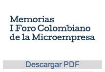 I Foro Colombiano de la Microempresa