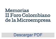 II Foro Colombiano de la Microempresa