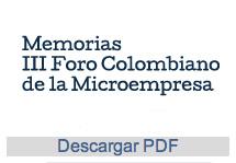 III Foro Colombiano de la Microempresa