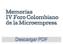 IV Foro Colombiano de la Microempresa