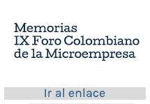IX Foro Colombiano de la Microempresa