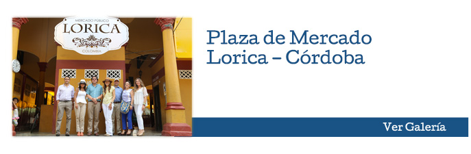 Plaza de Mercado Lorica – Córdoba