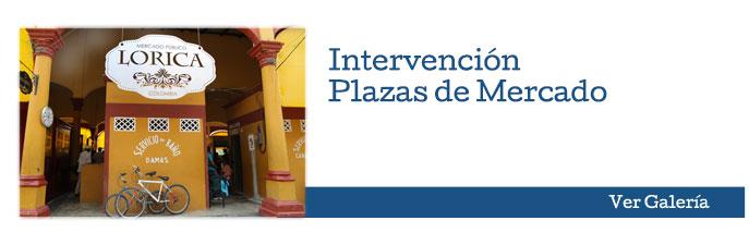 Intervención Plazas de Mercado