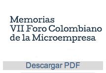 VII Foro Colombiano de la Microempresa